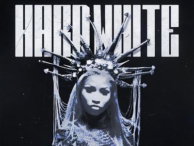 Hard White   Nicki Minaj (Cover Art) album art cover artwork album cover album cover art album cover design design cover art alimaydidthat graphic design ali may