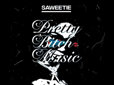 PRETTY BITCH MUSIC   Saweetie • Cover Art cover artwork album cover album cover art design album cover design cover art alimaydidthat graphic design ali may icy girl summer saweetie pretty bitch music