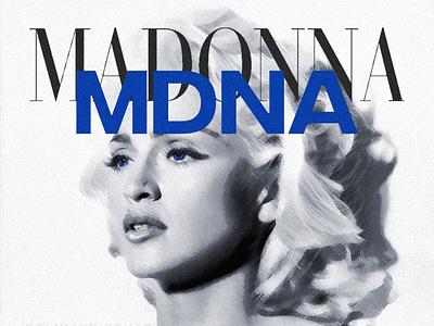 MDNA   Madonna • Tracklist Design album cover art madonna mdna mia nicki minaj madonna mdna design album cover design cover art alimaydidthat graphic design ali may