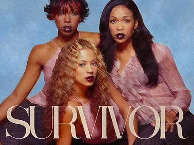 SURVIVOR   Destiny's Child • Cover Art album cover cover artwork graphic  design album cover art album cover design cover art alimaydidthat graphic design ali may beyonce cover