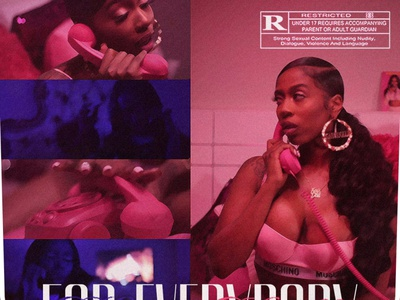 FOR EVERYBODY   Kash Doll • Cover Art album art cover artwork album cover album cover art album cover design cover art for everybody kash doll alimaydidthat graphic design ali may