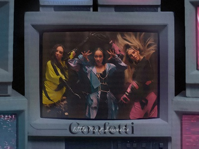 CONFETTI   Little Mix • Cover Art design cover artwork album cover album cover art album cover design cover art graphic design confetti little mix ali may alimaydidthat saweetie