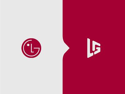 LG • Logo Redesign lg logo design redesign rebranding vector ui branding brand identity logo design branding logo cover art alimaydidthat graphic design ali may