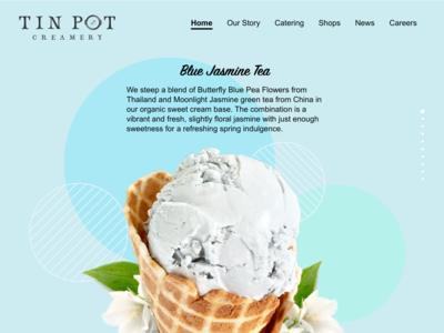 Tin Pot Web Redesign