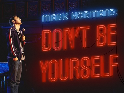 Mark normand dont be yourself subway art by marcus russell price mark normand dont be yourself solutioingenieria Image collections