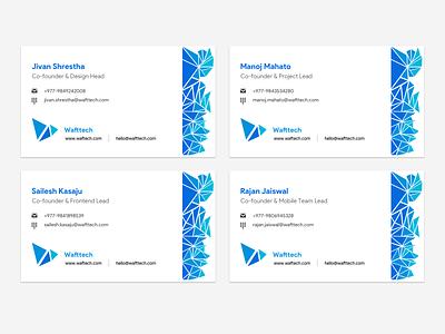 Wafttech: Visiting Cards visiting cards visiting card