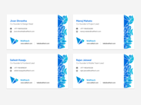 Wafttech: Visiting Cards