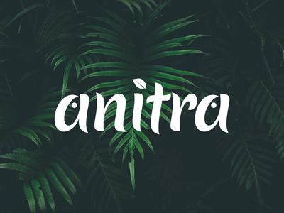 Anitra Logo logo animals leaf