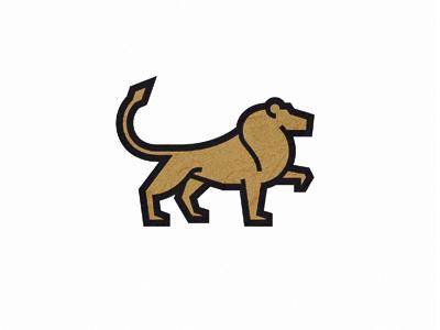 Lion logo mark brand symbol logo design logo designer creative logo creative lion force strong big cat roar