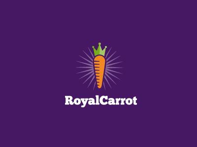 Royalcarrot logo mark brand royal carrot king motivation incentive