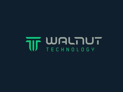 Walnut technology walnut technology china letter w letter t brand mark logo