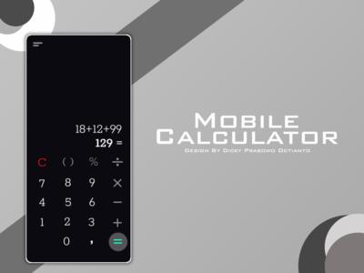 Calculator DailyUI 004 daily ui 004 geometric design figma adobe xd mobile daily 100 challenge dailyui app ui photoshop design