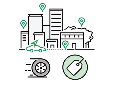 Enterprise Mobile Apps: icons design illustrator illustration vector