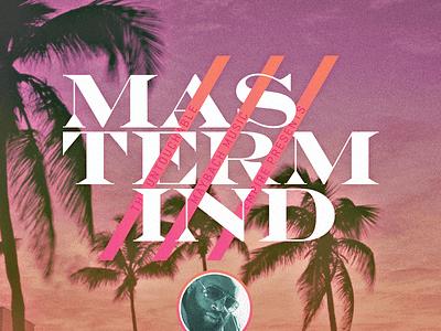 Mastermind concept art album cover album art music rozay rick ross hip-hop rap good type typography design
