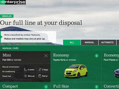 Enterprise EMEA responsive site detail user interface good type typography layout web design responsive mobile responsive design ui
