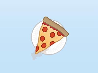 A pizza slice pizza design illustrator illustration vector