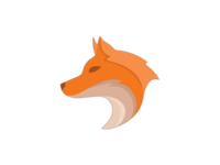 Fox design rebound illustrator fox logo