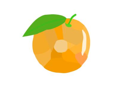 Orange bockshade