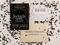New Years Eve Wedding Invitation