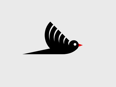 Bird smolkinvision illustration symbol branding mark logo bird