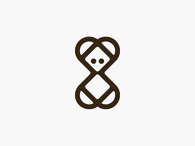 Toy Bear love heart bear toy sign symbol identity branding mark logo smolkinvision