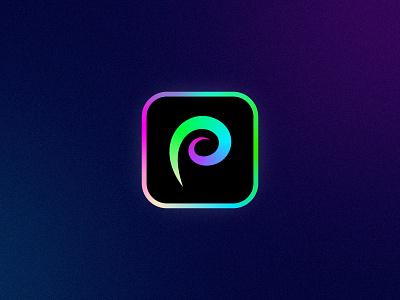 ProCreate App Icon redesign pc procreate getcreativewithprocreate icon sign symbol identity branding mark logo smolkinvision