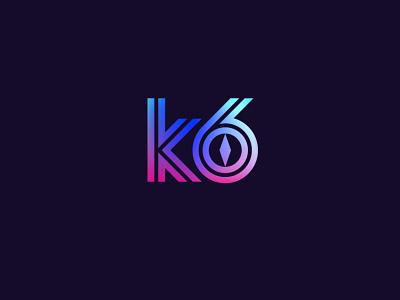 K6 — Crocodile Eye crocodile k6 eye logotype icon sign symbol identity branding mark logo smolkinvision