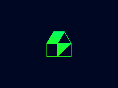 Electric House bolt lightning smart home house flash electric logotype icon sign symbol identity branding mark logo smolkinvision