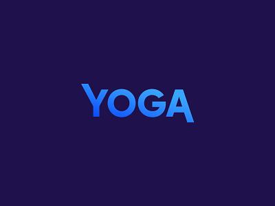 Yoga yoga logotype icon sign symbol identity branding mark logo smolkinvision