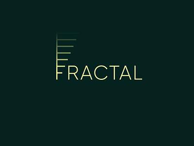 Fractal fractal f logotype icon sign symbol identity branding mark logo smolkinvision