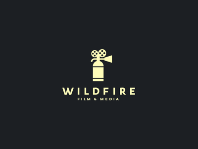 Wildfire film media wildfire extinguisher fire