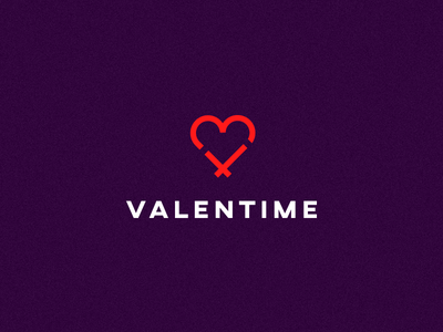 Valentime smolkinvision clock heart time valentine