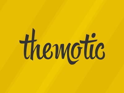 Themotic Logo logo themotic hipster wordpress theme