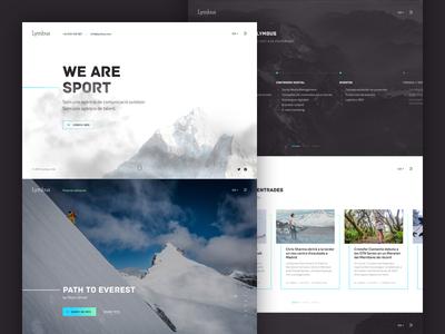 Lymbus Home Redesign v01 design uiux webdesign