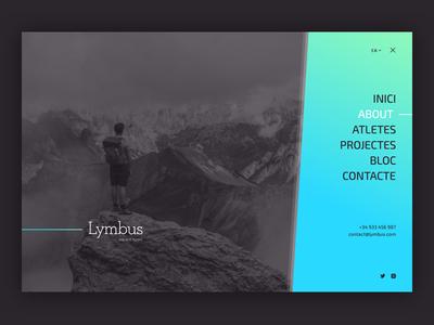 Lymbus Off Canvas Menu v01 design uiux webdesign
