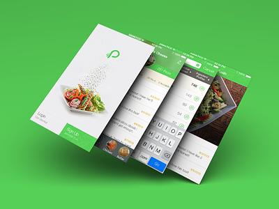 Somethings Cooking ui notification design photoshop iphone 5 san francisco free lance app design drop down food ux psd