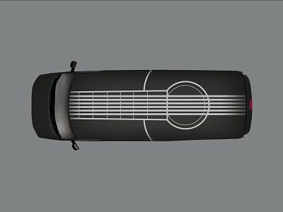 Branding | John Lau Guitar Repair Center branding design graphic design