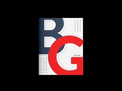 Book Cover | Type Specimen typography illustration design graphic design