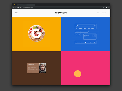 New Homepage framer prototype google portfolio