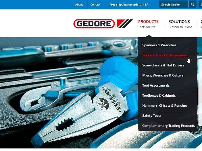 Gedore - new site coming soon