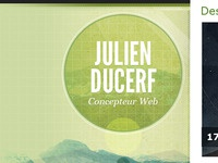 Julien Ducerf - Webdesign Blog Background