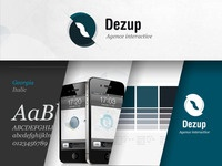 Visual Identity for Dezup -  French web agency