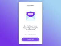 E-mail Subscribe