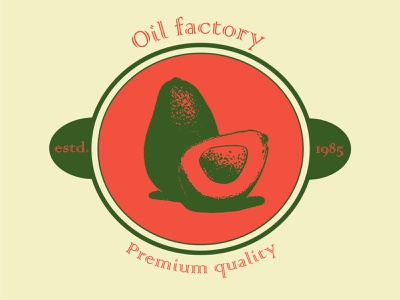 Oil factory logo logo design vector
