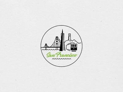 Destination Stamps Series: San Francisco