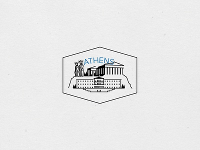 Destination Stamps Series: Athens