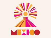 Mexico Ruin poster