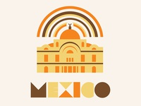 Mexico Palacio poster