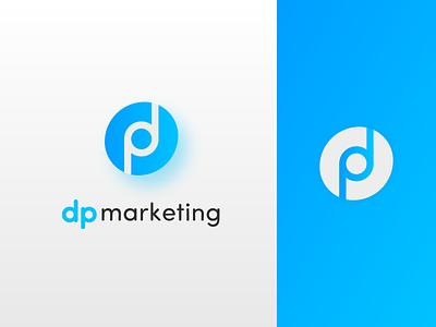 DP illustrator web store logo illustration icon graphic design minimal design branding