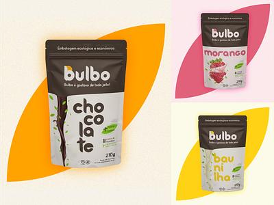 Bulbo Design de Embalagem store web illustration logo graphic design icon minimal design branding packagedesign package